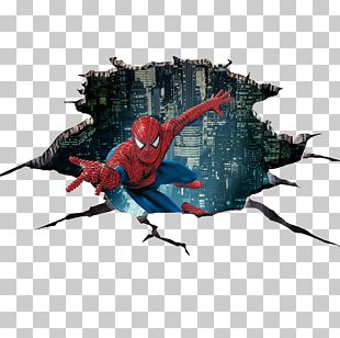 Spider-Man Sticker 3D Computer Graphics PNG