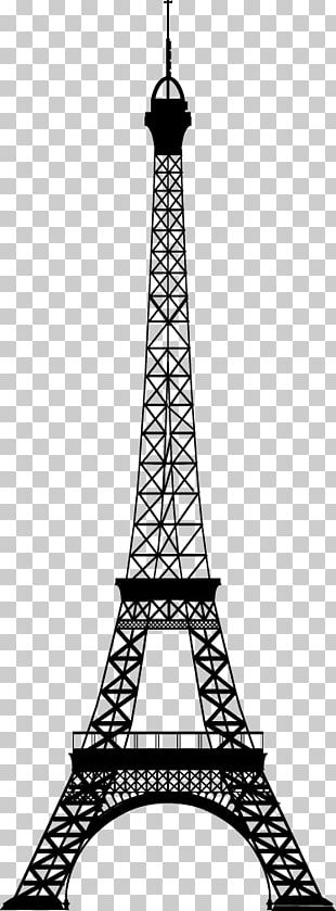 Eiffel Tower Coloring Book Monument Drawing PNG