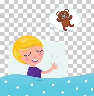 Sleep Dream Child Illustration PNG
