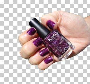 Nail Polish Purple Cosmetics PNG