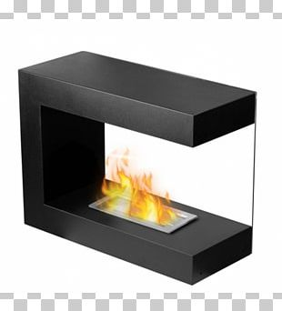 Ethanol Fuel Fireplace Insert Stove PNG