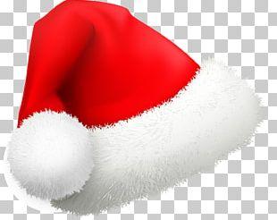 Santa Claus Christmas Hat Cartoon PNG