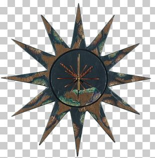 Solar Symbol Black Sun PNG