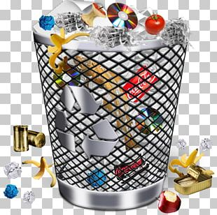 Computer Icons Rubbish Bins & Waste Paper Baskets Trash PNG