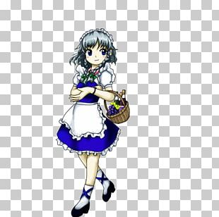 Sakuya Izayoi The Embodiment Of Scarlet Devil Character Maid Person PNG