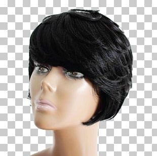 Black Hair Hair Coloring Brown Hair Wig PNG