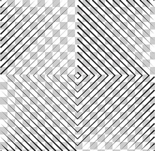 Optical Illusion Geometry Line PNG