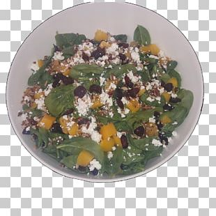 Spinach Salad Vegetarian Cuisine Leaf Vegetable Recipe Superfood PNG