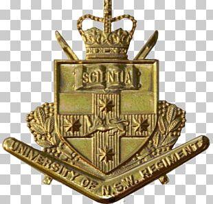 University Of New South Wales Regiment Cap Badge PNG