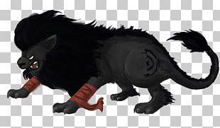 Big Cat Snout Legendary Creature Black Panther PNG