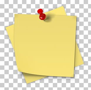 Post-it Note Paper Sticker Sticky Notes PNG
