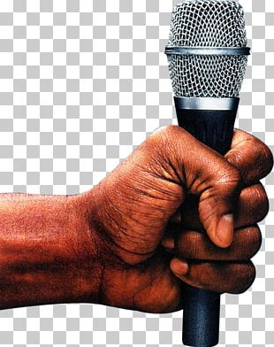 Microphone Open Mic Comedian Humour Rapper PNG