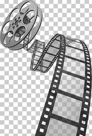 Photographic Film Reel PNG