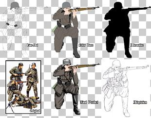 Soldier Drawing Army Infantry Uniforms Of The Heer PNG