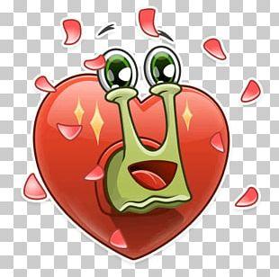 Telegram Sticker Snail VK PNG