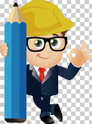 Cartoon Engineering PNG
