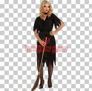 Halloween Costume Little Black Dress Vintage Clothing PNG