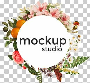 Mockup Graphic Design Photography Floral Design PNG