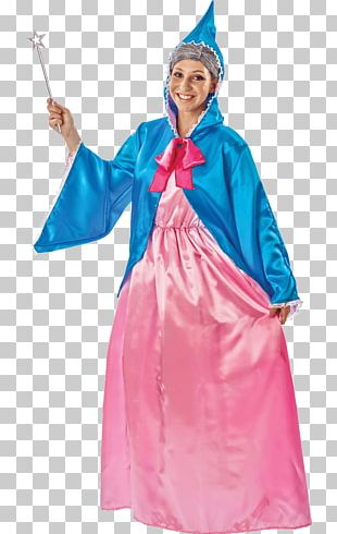Cinderella Fairy Godmother Costume Party Halloween Costume PNG