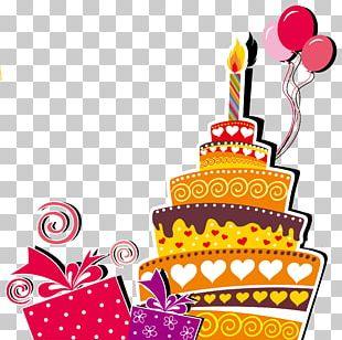 Birthday Cake Wedding Invitation Happy Birthday To You PNG