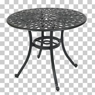 Table Garden Furniture Aluminium Chair Metal PNG