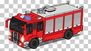 Fire Engine Car Hydraulic Rescue Tools Fire Department PNG