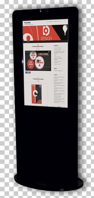 Product Design Interactive Kiosks Display Advertising Telephony PNG