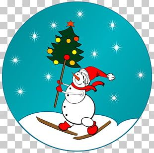 Santa Claus Christmas Tree Snowman PNG