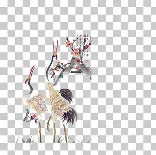 Crane Tattoo Idea Png Clipart Animal Art Beak Biomechanical Art