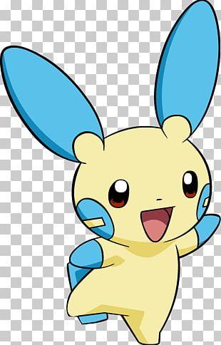 Minun Pokemon PNG