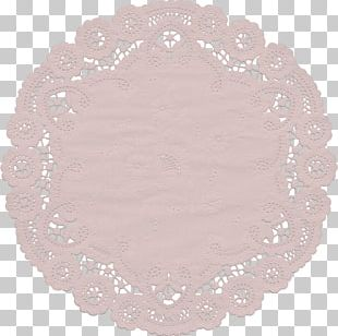 Place Mats Doily Lilac Circle PNG