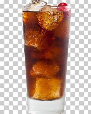Rum And Coke Long Island Iced Tea Highball Monin PNG