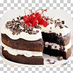 Chocolate Cake Black Forest Gateau Birthday Cake Frosting & Icing Cream PNG
