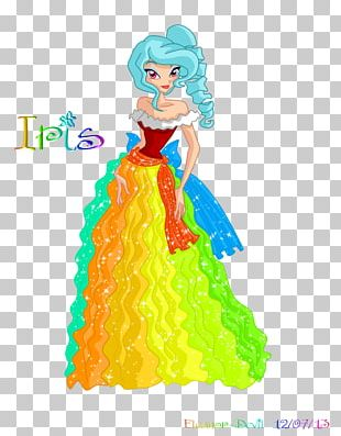 Figurine Costume Design Cartoon Doll PNG