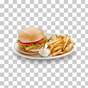 French Fries Cheeseburger Breakfast Sandwich Take-out Hamburger PNG