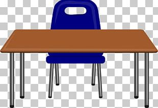 Table Desk Notebook Pencil PNG