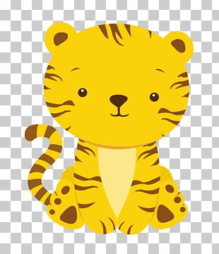 Baby Tigers Infant Baby Shower PNG