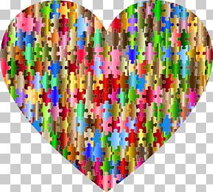 Jigsaw Puzzles Heart PNG