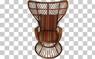 Wicker Table Chair Garden Furniture PNG