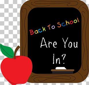 Blackboard School Drawing PNG
