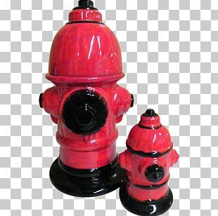Fire Hydrant Biscuit Jars Ceramic Piggy Bank PNG