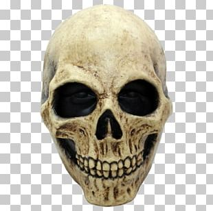 Latex Mask Halloween Costume Skull PNG