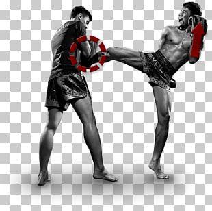 Muay Thai Kickboxing Contact Sport Martial Arts PNG
