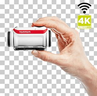TomTom Bandit Action Camera Video Cameras 4K Resolution PNG