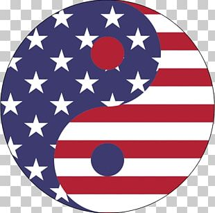 Yin And Yang Flag Of The United States Symbol PNG