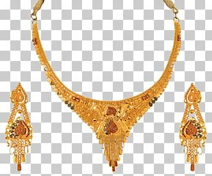 Earring Gold Jewellery Necklace Jewelry Design PNG