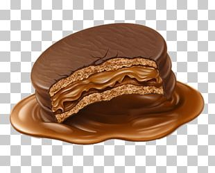 Alfajor Chocolate Cake Illustration PNG