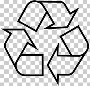 Recycling Symbol Sticker Recycling Bin Waste Container PNG
