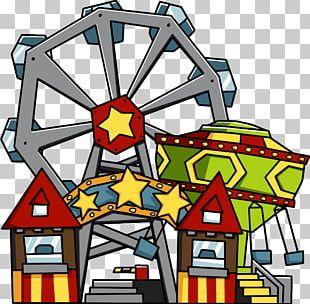 Scribblenauts Eurosat Theme Park Amusement Park PNG