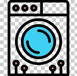 Washing Machine Laundry Symbol Icon PNG